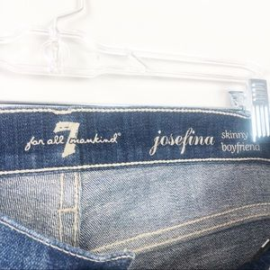 7 For All Mankind Jeans - 7 For All Mankind | Josefina Skinny BF Jeans